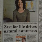 Zest for life drives natural awareness