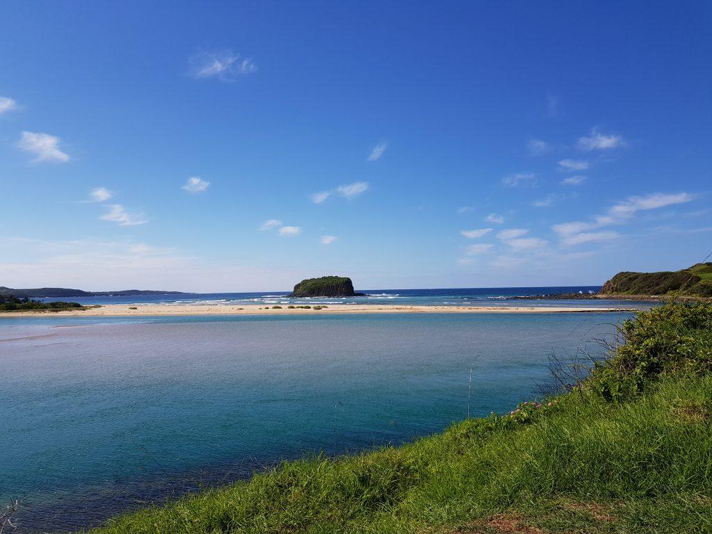 A picturesque spot at Kiama